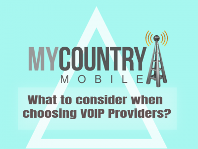 What to consider when choosing VOIP Providers?