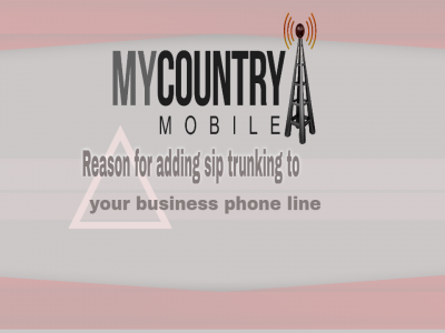 Reason for adding sip trunking to your business phone line