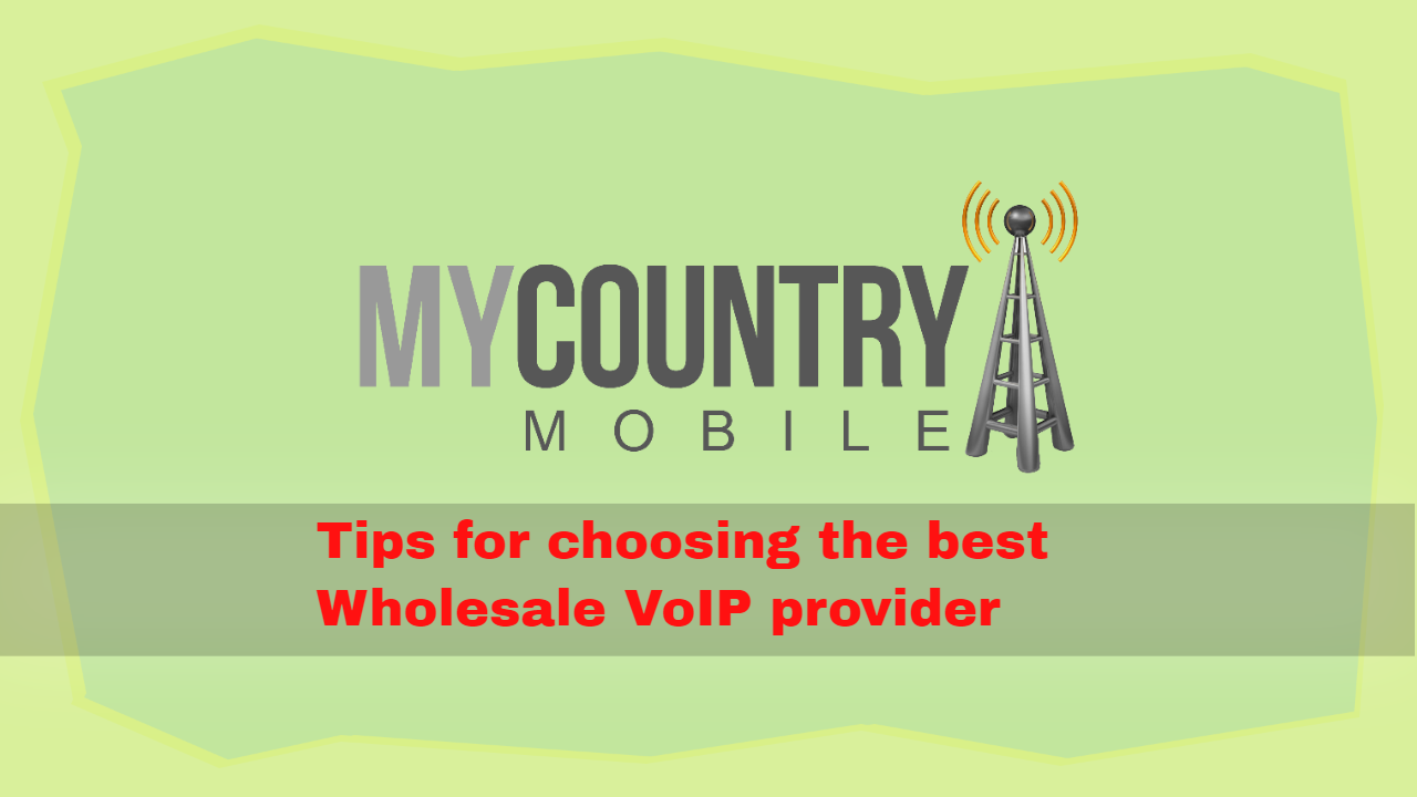Tips for choosing the best Wholesale VoIP provider