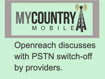 Discusses with PSTN switch-off by providers