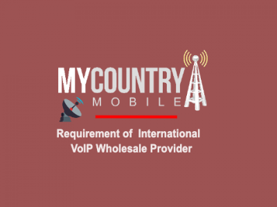 A Requirement of  VoIP Wholesale Provider
