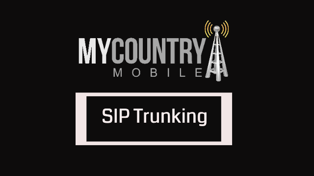 A large amount of sip trunking