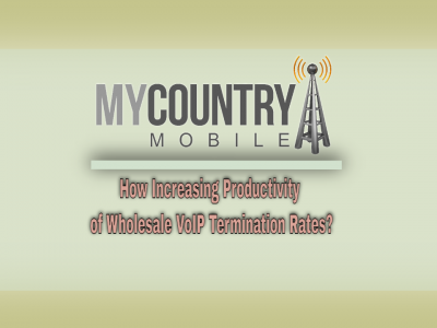 How increases the wholesale VoIP termination rate?