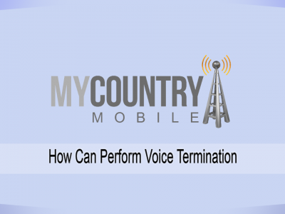 How Can Perform Voice Termination?