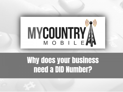 Why does your business need a DID Number?