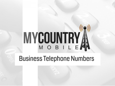 Business Telephone Numbers