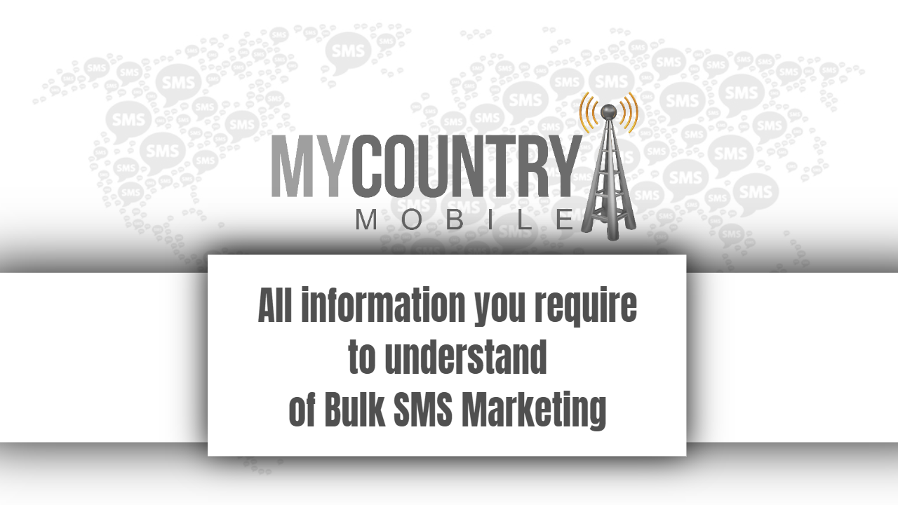 Information require to understand of Bulk SMS Marketing