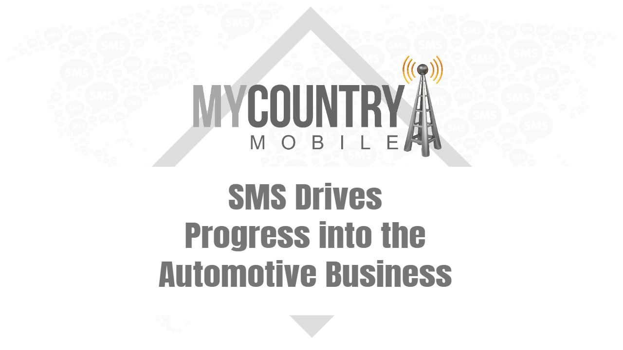 SMS Drives Progress into the Automotive Business