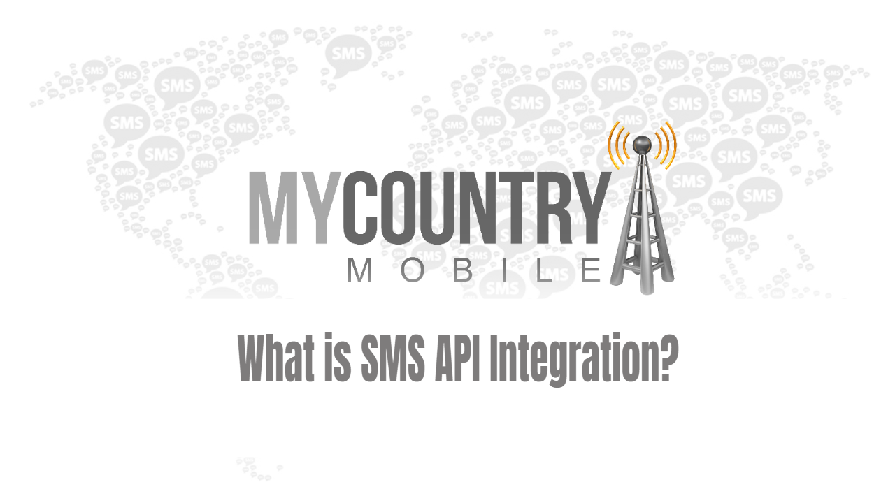 What is SMS API Integration?
