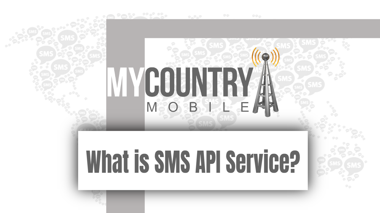 What is SMS API Service?