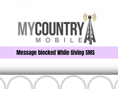 Message blocked While Giving SMS