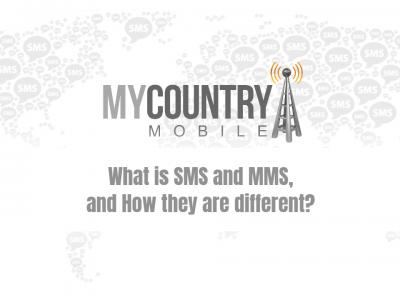 What are SMS & MMS, and How they different?