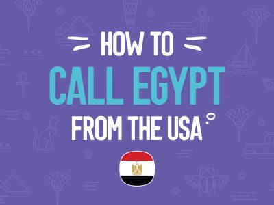 How to call Egypt?