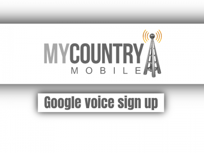 Google voice sign up