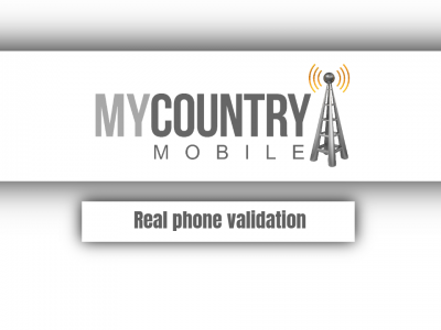 Real phone validation