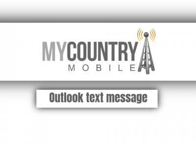 Outlook text message