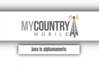 Java is alphanumeric