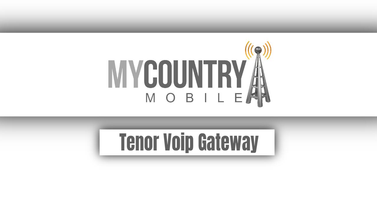 Tenor Voip Gateway