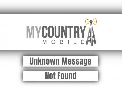 Unknown Message Not Found
