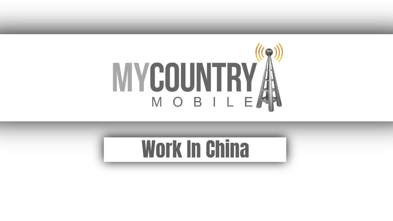 Work In China