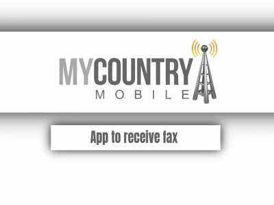 App to receive fax