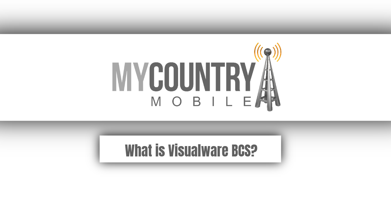 What is Visualware BCS?