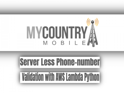 Server Less Phone-number with AWS Python