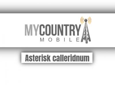 Asterisk Calleridnum
