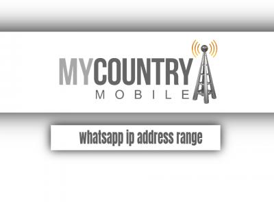 WhatsApp IP address range