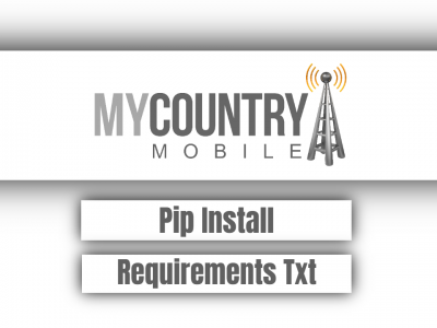 Pip Install Requirements Txt