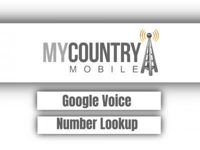 Google Voice Number Lookup