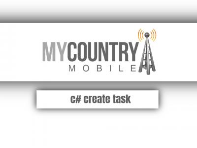 C# Create Task