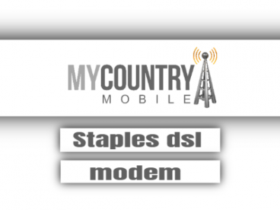 Staples DSL Modem