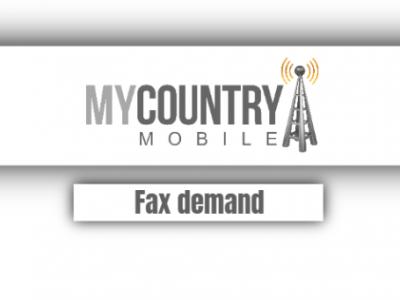Fax Demand