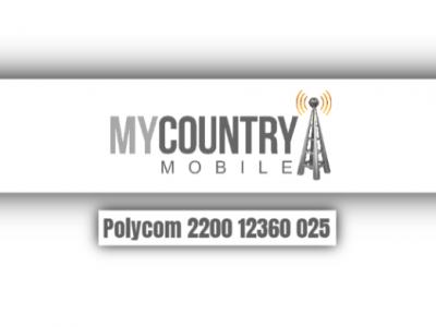 Polycom 2200 12360 025