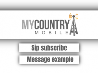 Sip Subscribe Message Example