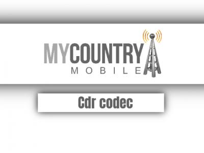 Cdr Codec