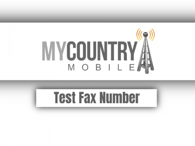 Test Fax Number
