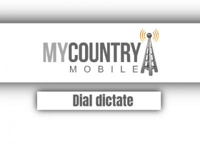 Dial Dictate