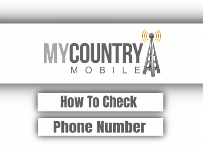 How To Check Phone Number?