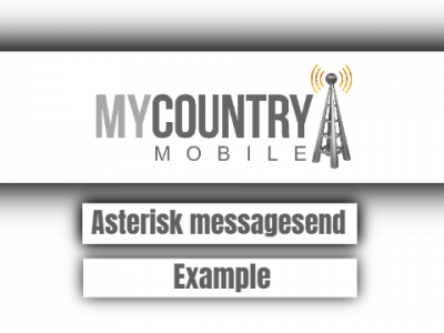 Asterisk Message Send Example