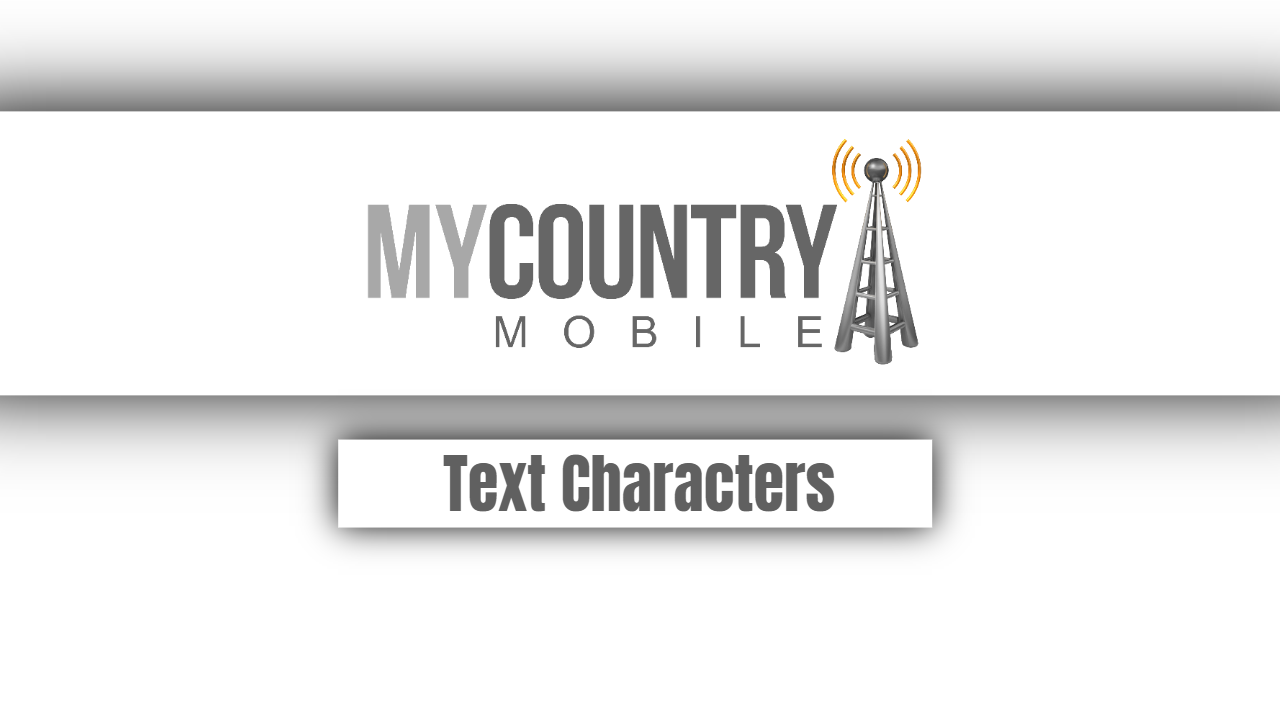 Text Characters
