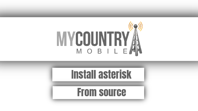 Install asterisk From source