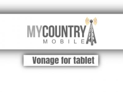 Vonage For Tablet