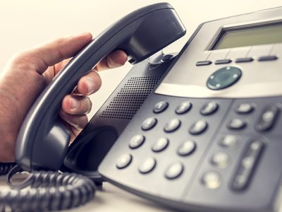 Assess Voice-mail On the Telephone