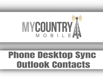 Phone Desktop Sync Outlook Contacts