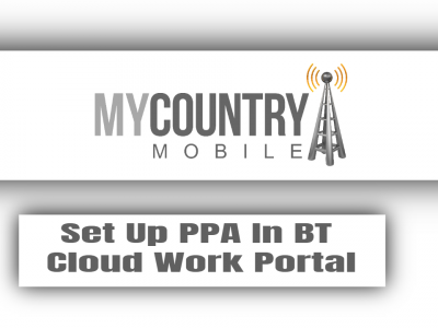 Set Up PPA In BT Cloud Work Portal