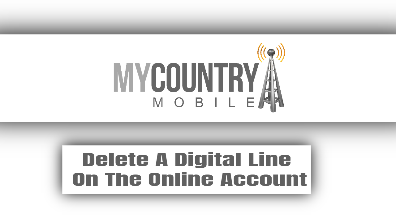 Delete A Digital Line On The Online Account