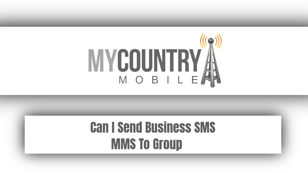 Can I Send Business SMS MMS To Group