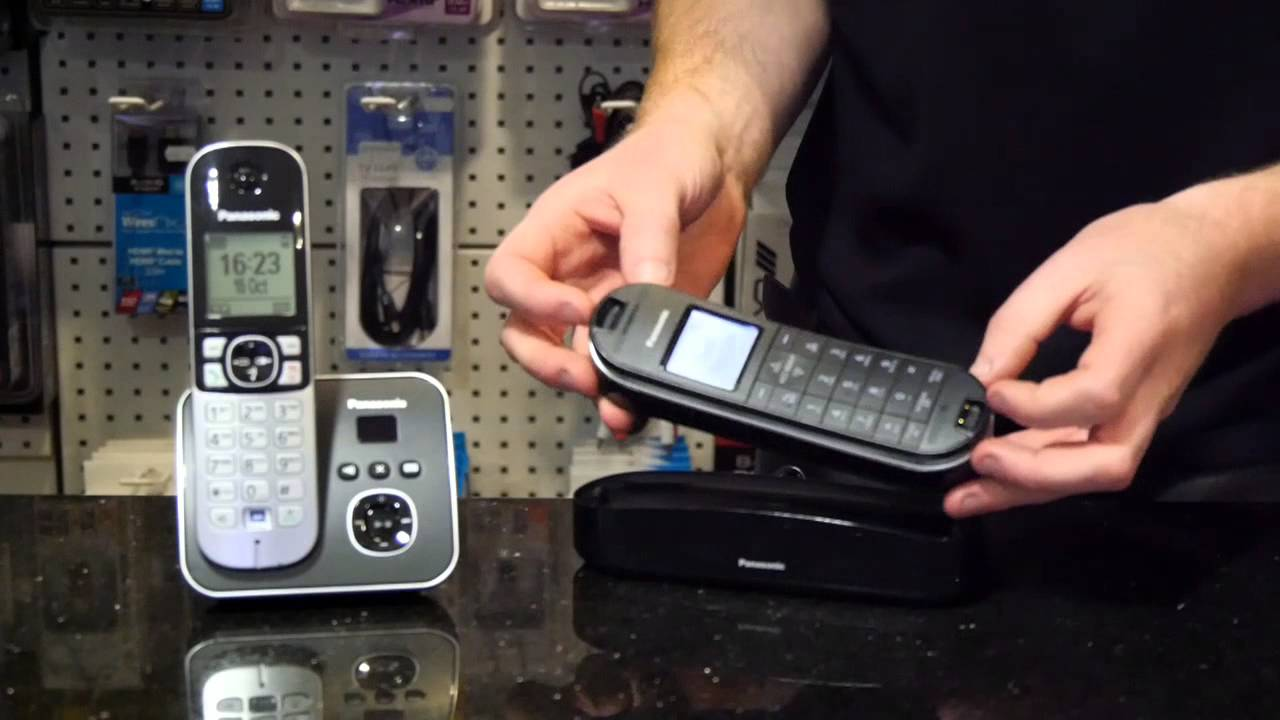 How to Pair Panasonic DECT Phone to Base Unit